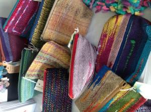 A selection of Saori bags