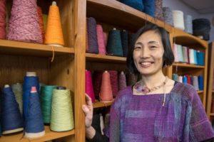 SAORI Weaving Workshop with Mihoko